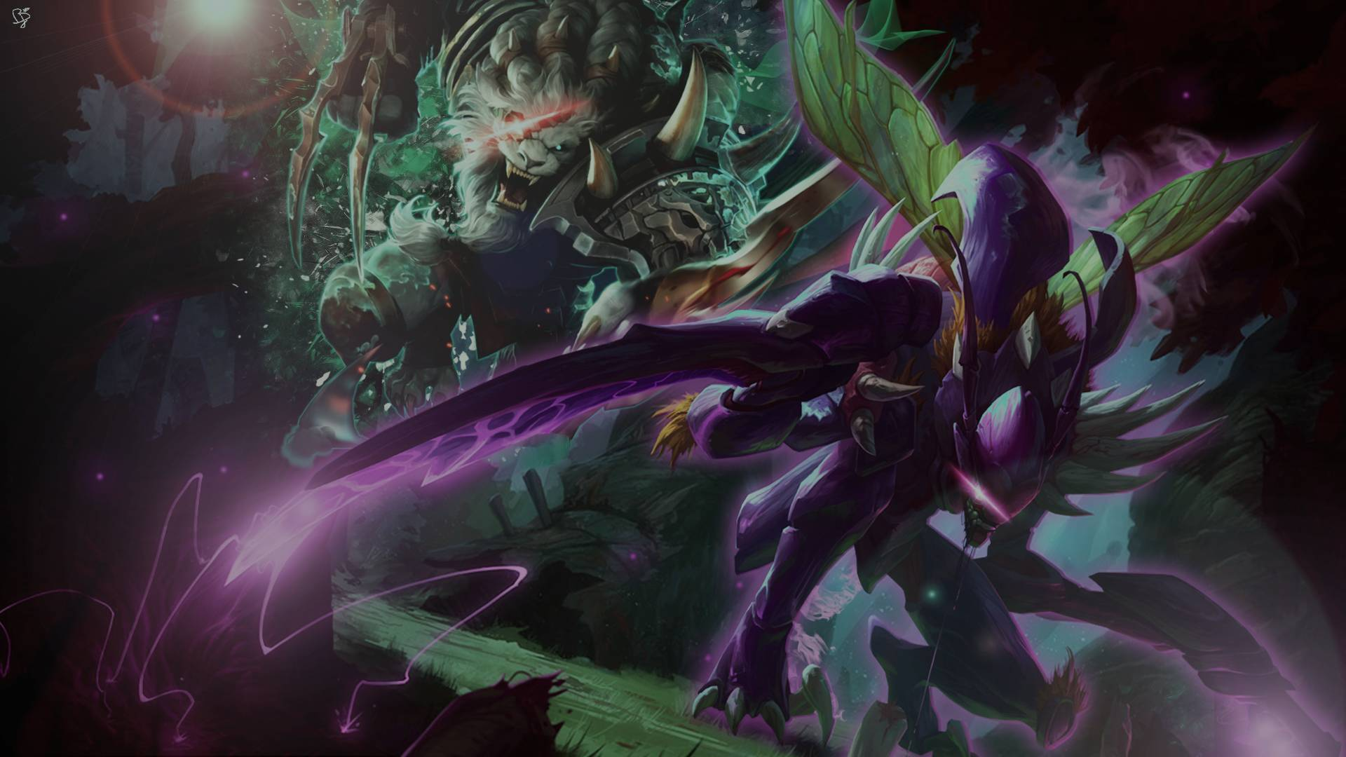 PBE SPP background in League of Legends