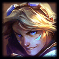 Champion close up photo of Ezreal in ADC Tier List