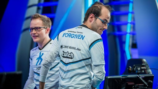 H2K Forg1ven post match featuring his team  jersey