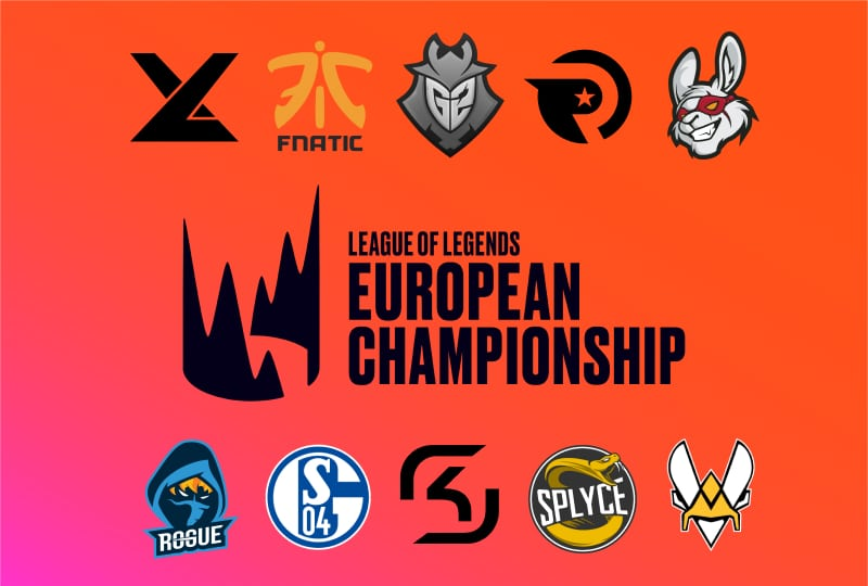 A complete list of 2019 teams from the LEC