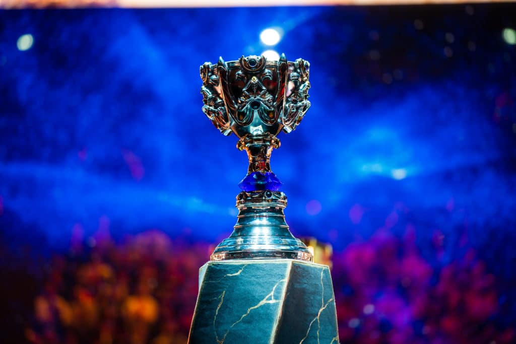 Image showing the League of Legends World Championship 2019 Cup.