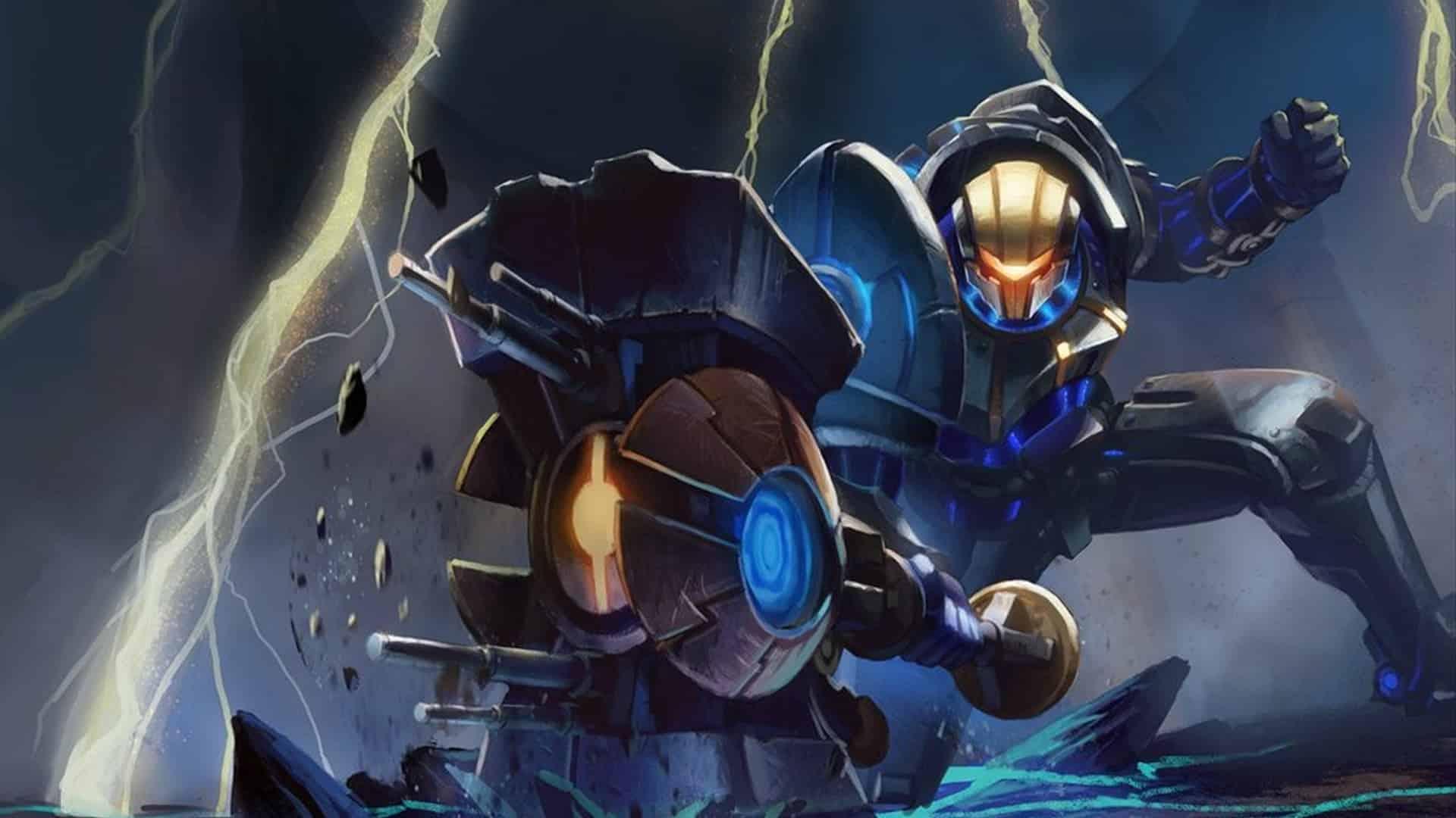 Official League of Legends art from Jayce