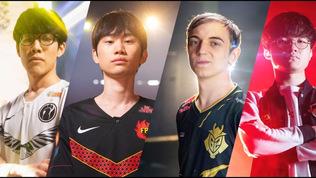 ThyShy, Doinb, Caps, and Faker featured in the Worlds 2019 teaser