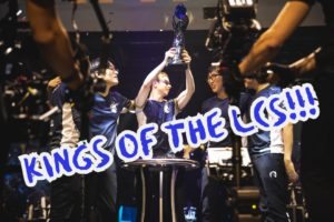 Team Liquid wins the LCS Championship   LCS Lock-in Banner