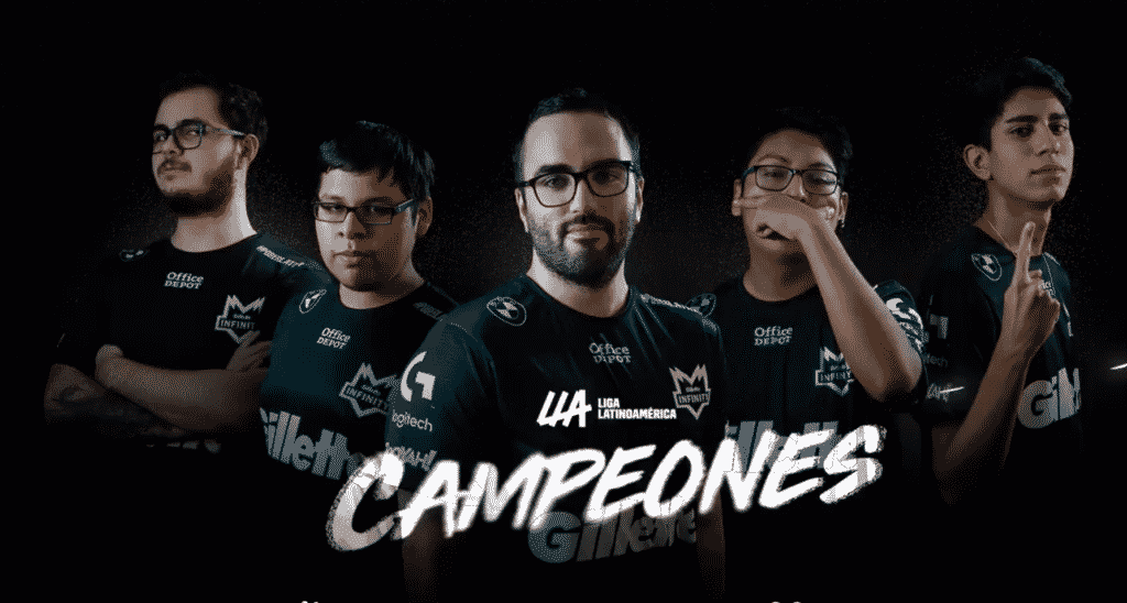 The LLA Champions - Infinity Esports