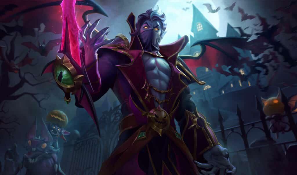 Kassadin dressed like a Vampire - Kassadin Guide
