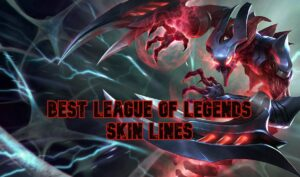 Nocturn covered in red energy - Best LoL Skin Lines Banner