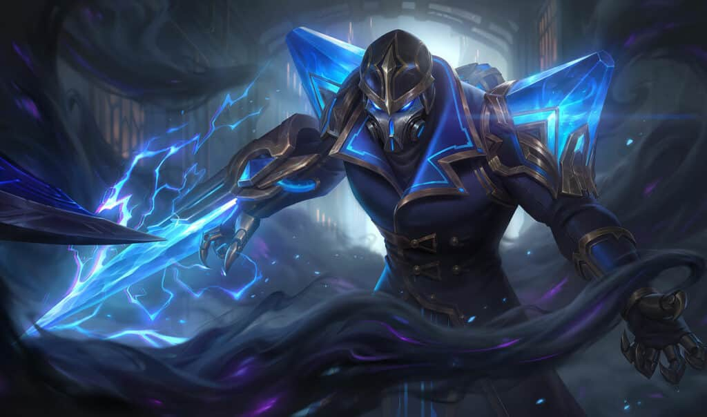 Kassadin equipped with Hextech Crystals in his body - Kassadin Guide