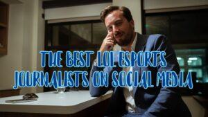Travis Gafford in a Suit | Best LoL Esports Journalist Banner