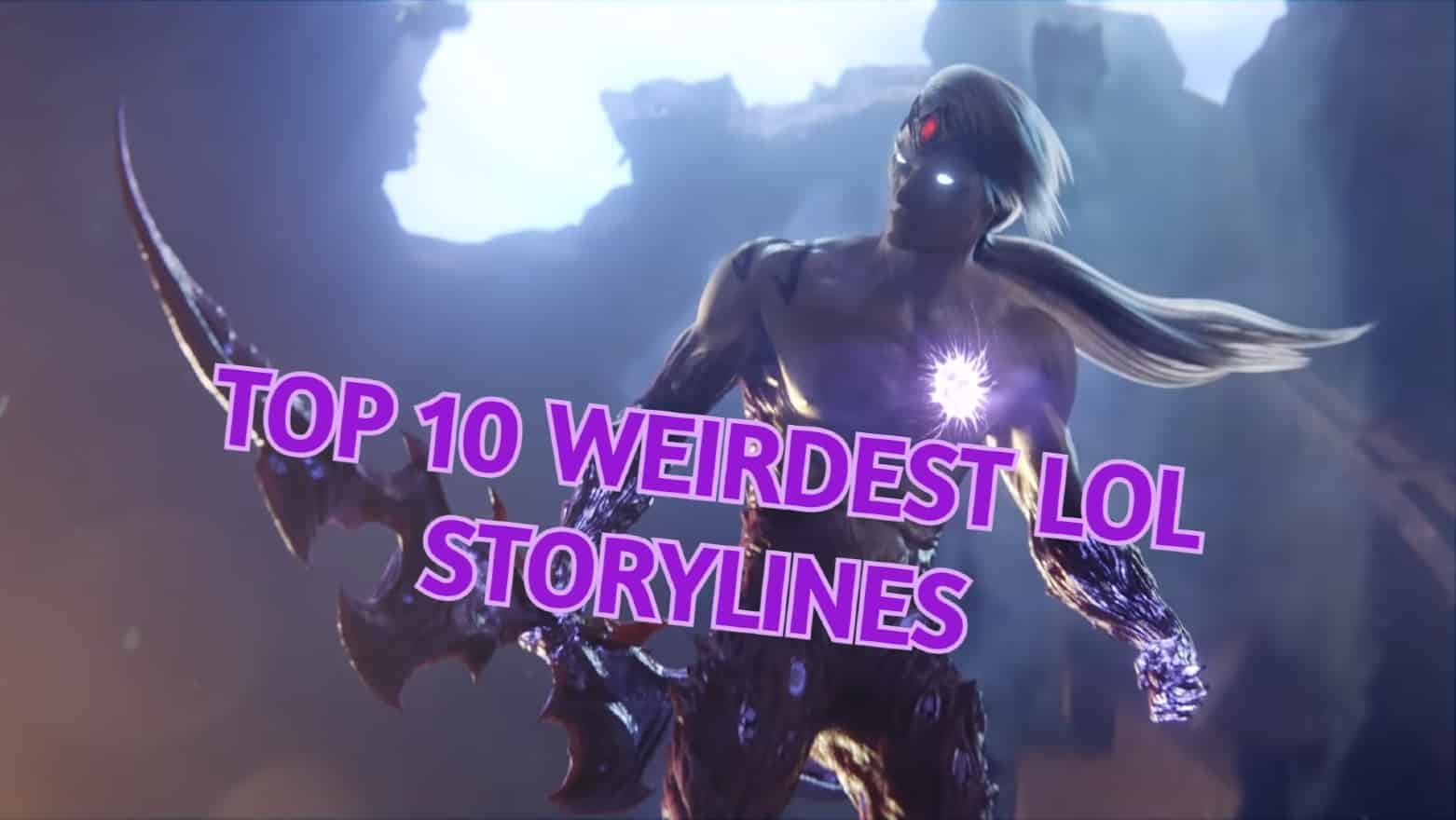 Varus animated from the As We Fall music video | Weirdest LoL Storylines Banner